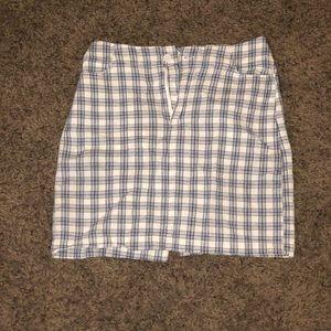 plaid skirt from brandy melville